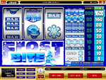 Frost bite 3 reel slot machine